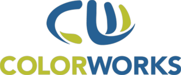 colorworks green and blue logo