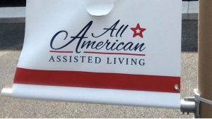 all american assisted living banner