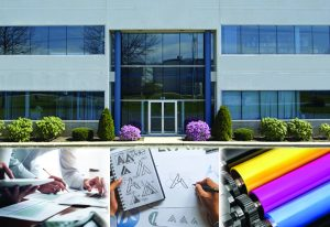 colorworks inc front of building and design