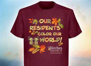 personal care tee-shirt marketing