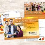 multi-channel credit union marketing post card