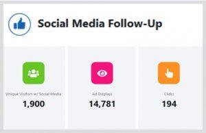 social media follow-up dashboard
